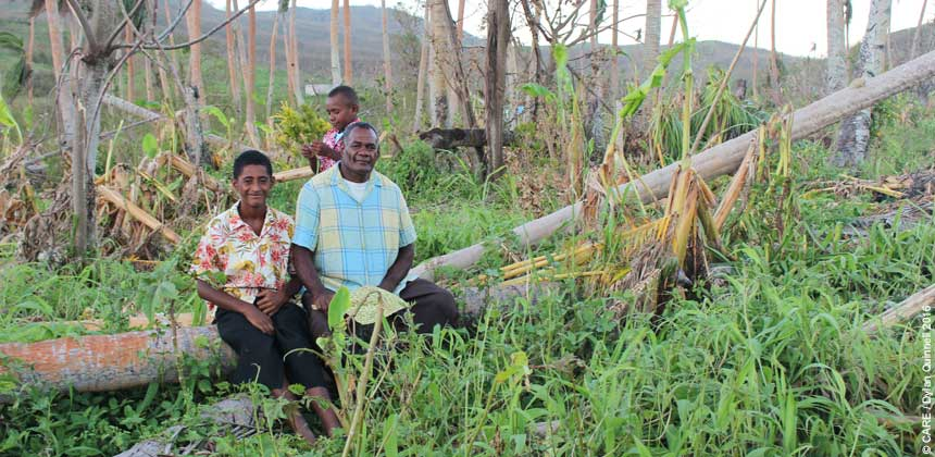 Pulling together after tropical cyclone Winston in Fiji | CARE