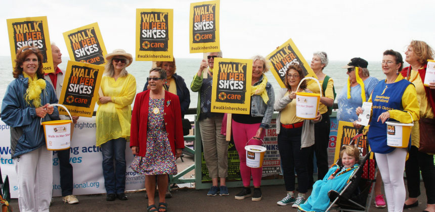 People fundraising for Walk In Her Shoes