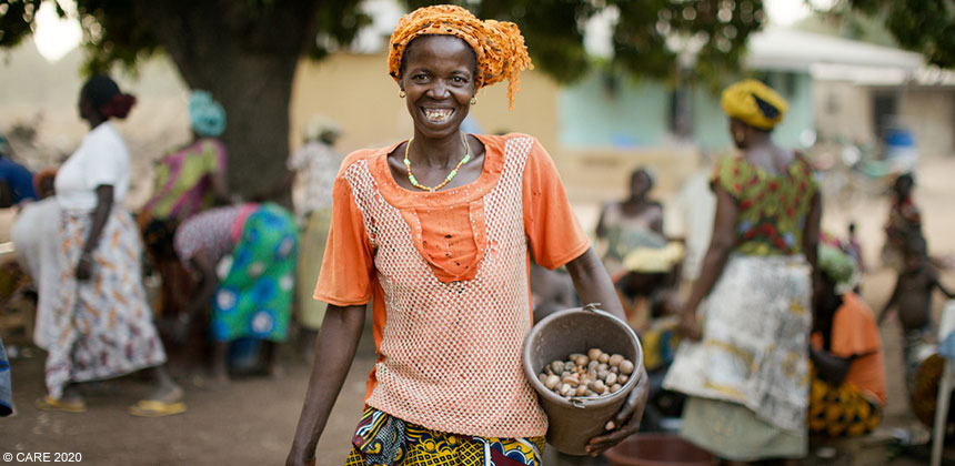 Sekongo Dieneba, a shea butter producer in the Ivory Coast