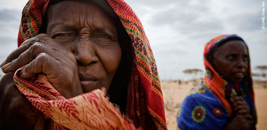 Somalian refugees arrive at Dadaab refugee camp