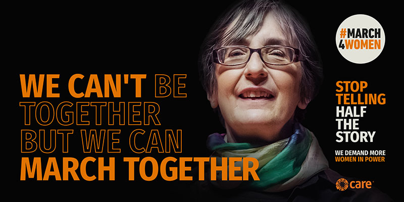 #March4Women 2021: We can march together