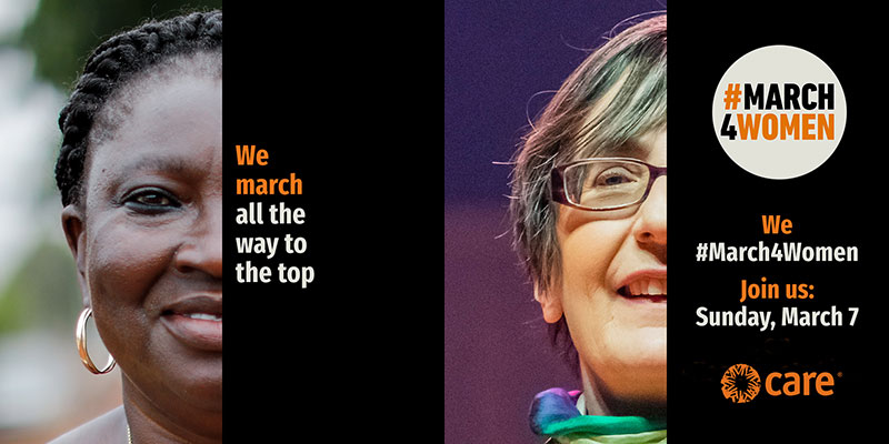#March4Women 2021: We march all the way to the top