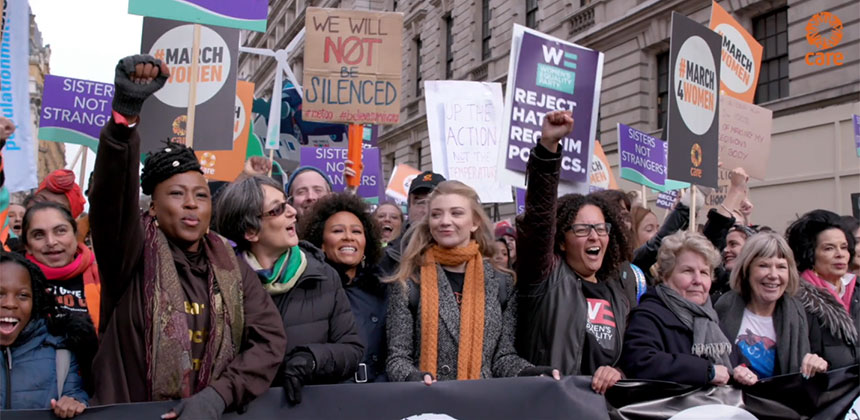 #March4Women 2020 highlights video