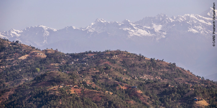Villages on the way to Sindupalchowk from Kathmandu that were largely destroyed in the earthquake