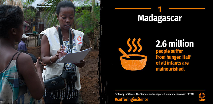 Suffering in Silence - Madagascar - graphic