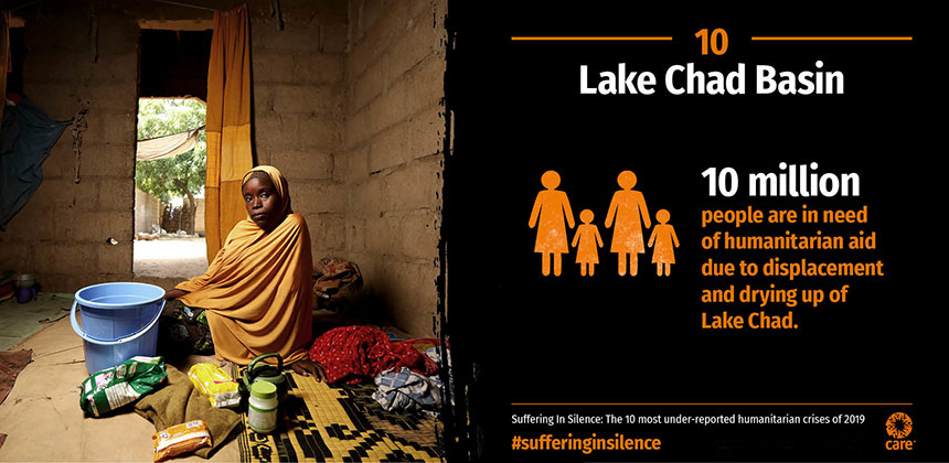 Suffering in Silence - Lake Chad Basin - graphic