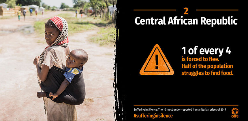 Suffering in Silence - Central African Republic - graphic