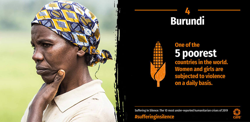 Suffering in Silence - Burundi - graphic