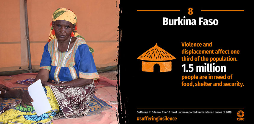 Suffering in Silence - Burkina Faso - graphic