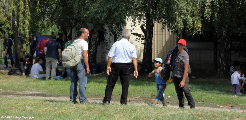 Rami and other Syrian refugees