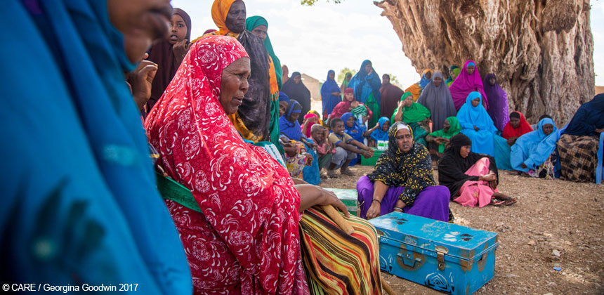 Savings group meeting in Somaliland