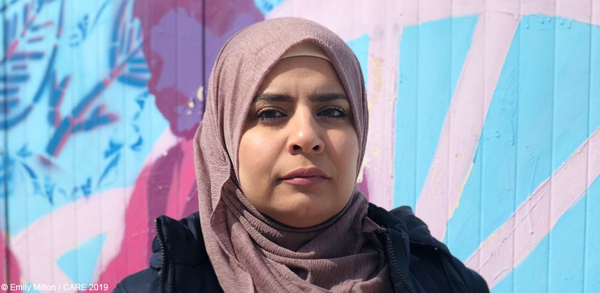 portrait of CARE staff member Suad Al Anati