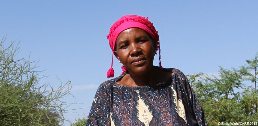 Portrait of Maya Isdori, a farmer in Tanzania