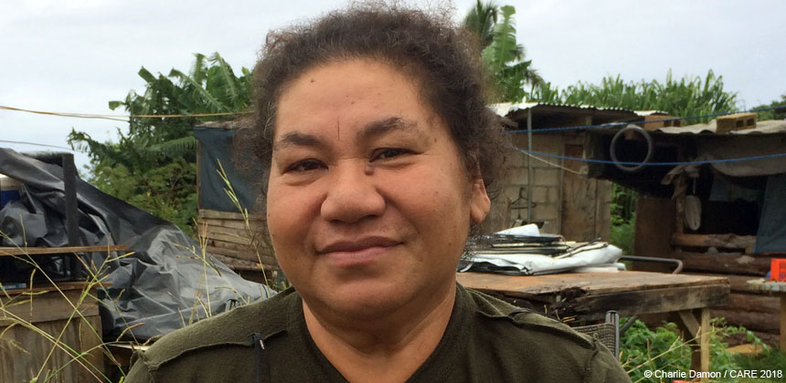 Portrait of Nesi in Tonga