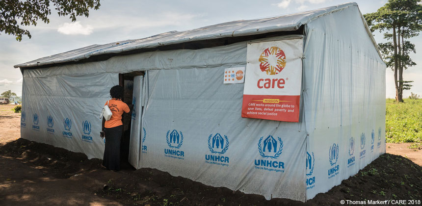CARE Uganda is supporting refugees from DRC with gender-based violence, sexual and reproductive health services