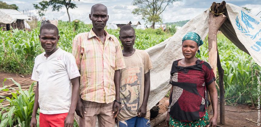 Kisembo and Mapenda watched their neighbours be killed with machetes