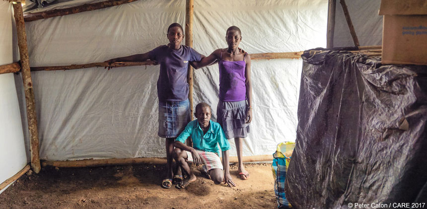 South Sudanese refugees Nina Tabu Emmanuel