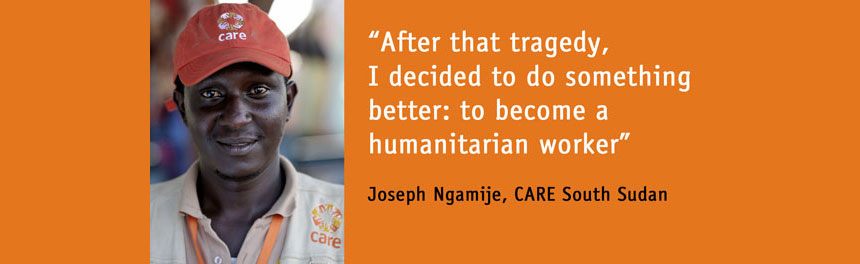 Joseph Ngamije, CARE South Sudan