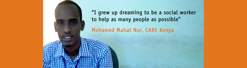 Mohamed Mahat Nur, CARE Kenya