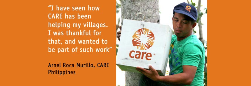 Arnel Roca Murillo, CARE Philippines