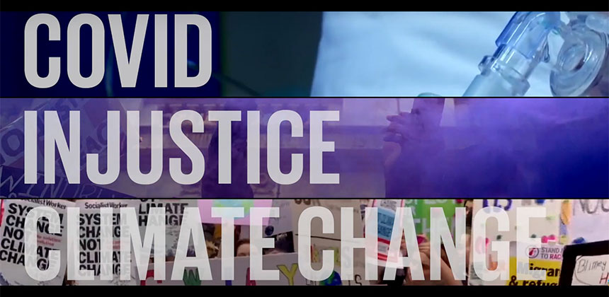 Covid-injustice-climate-change - video screengrab