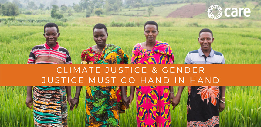 Climate justice & gender justice must go hand in hand (graphic)