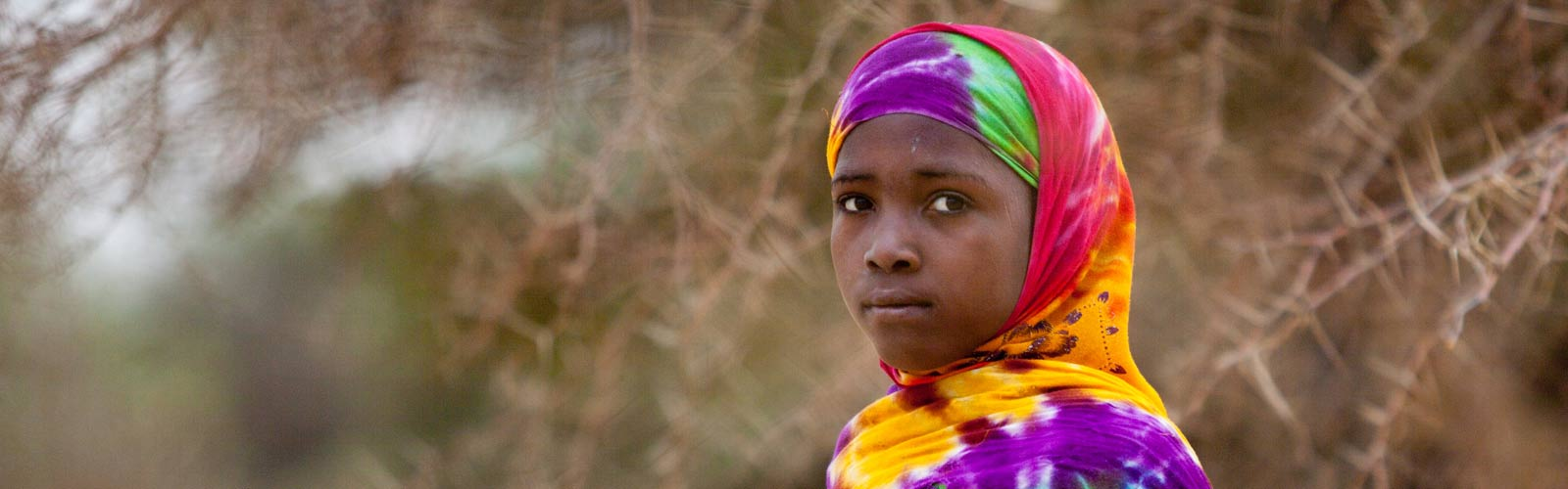 A young girl in Chad