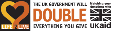The UK Government will double everything you give