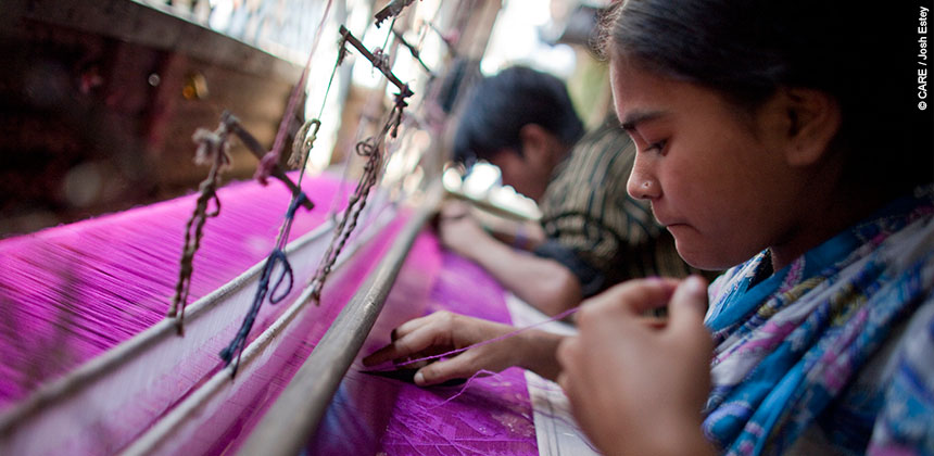 The garment industry is a large employer of women in Bangladesh, but events like the Rana Plaza factory collapse show that many work in unsafe conditions
