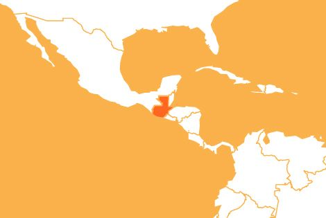 Guatemala country map