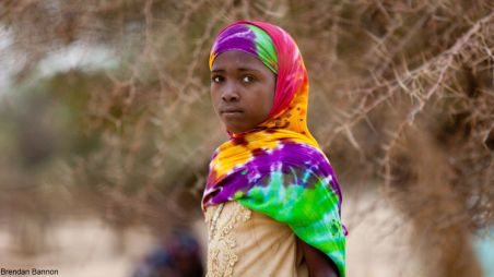 A young girl in Chad during the 2012 drought