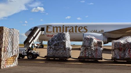 Emirates airline and cargo