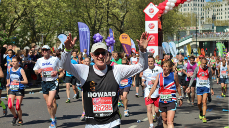 Sign up for the Virgin London Marathon 2018