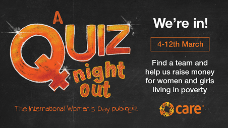 A Quiz Night Out March 2019 | CARE
