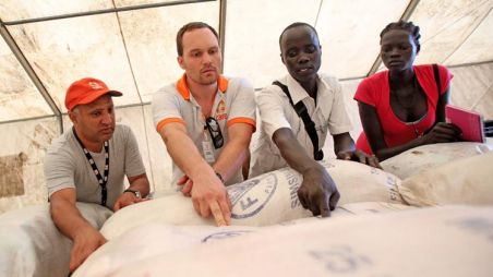 CARE staff in South Sudan