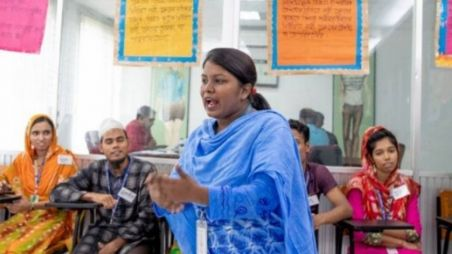 Empowering women workers in Bangladesh.