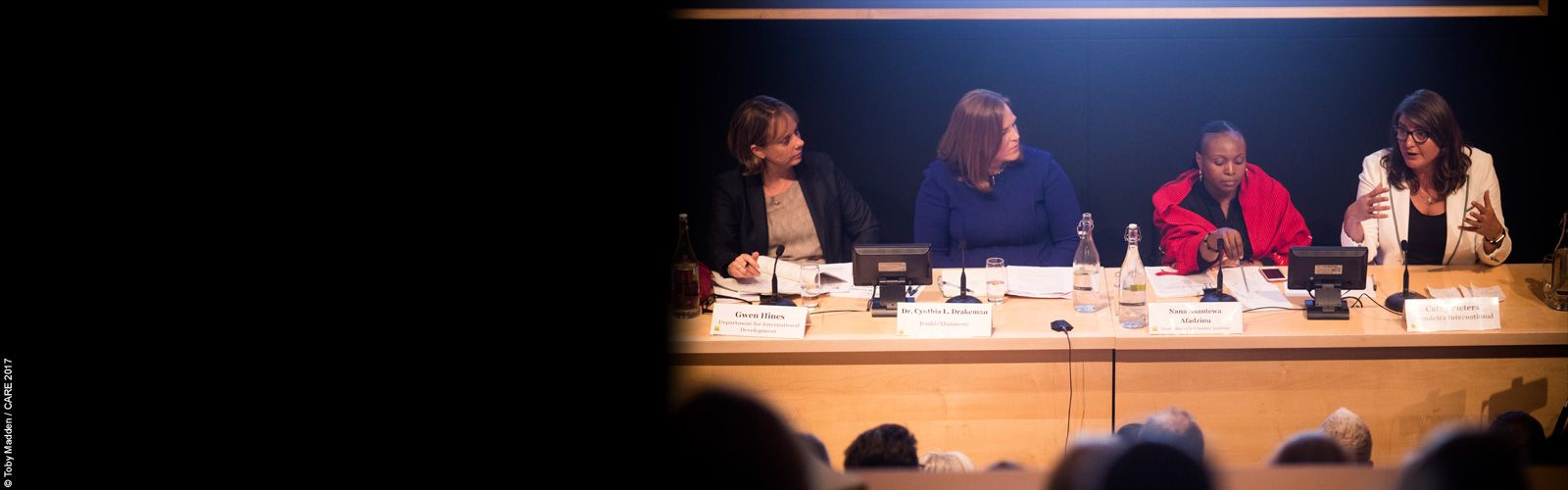 Panel at Empowering women in the economy event