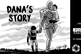 Dana's story - title page