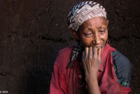 Almaz, a woman in Ethiopia