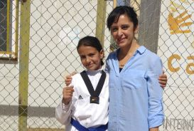 Shabnam Amini and 12-year-old Rayan