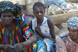Internally displaced people in northern Mali
