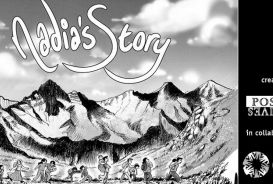 Nadia's story comic strip