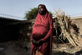 Fatima, a pregnant woman in northeastern Nigeria