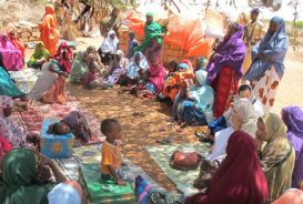 VSLA group in Somalia