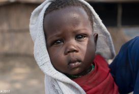 Young boy in South Sudan