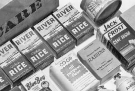 A 1940s CARE package.