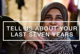Video slide: Fatmeh, a Syrian refugee in Lebanon, tells her story