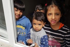 Like many Syrians, Najlaa and her family have been displaced several times