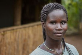 Portrait of Rehema in Uganda
