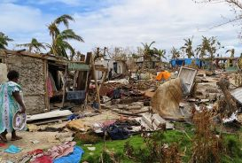 One of the communities devastated by Cyclone Pam